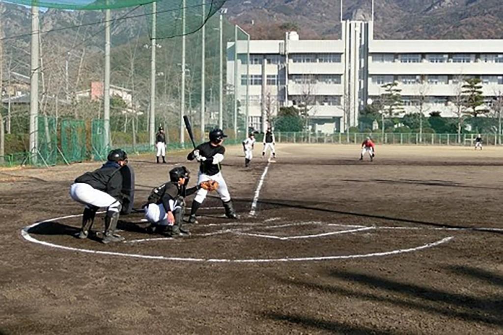 小豆島野球部②練習風景