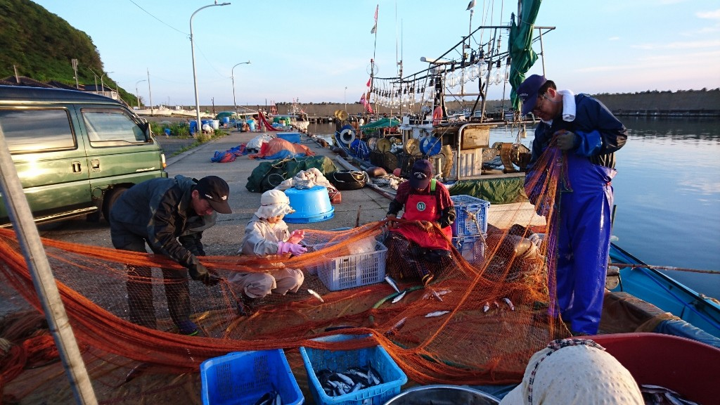 トビウオ漁