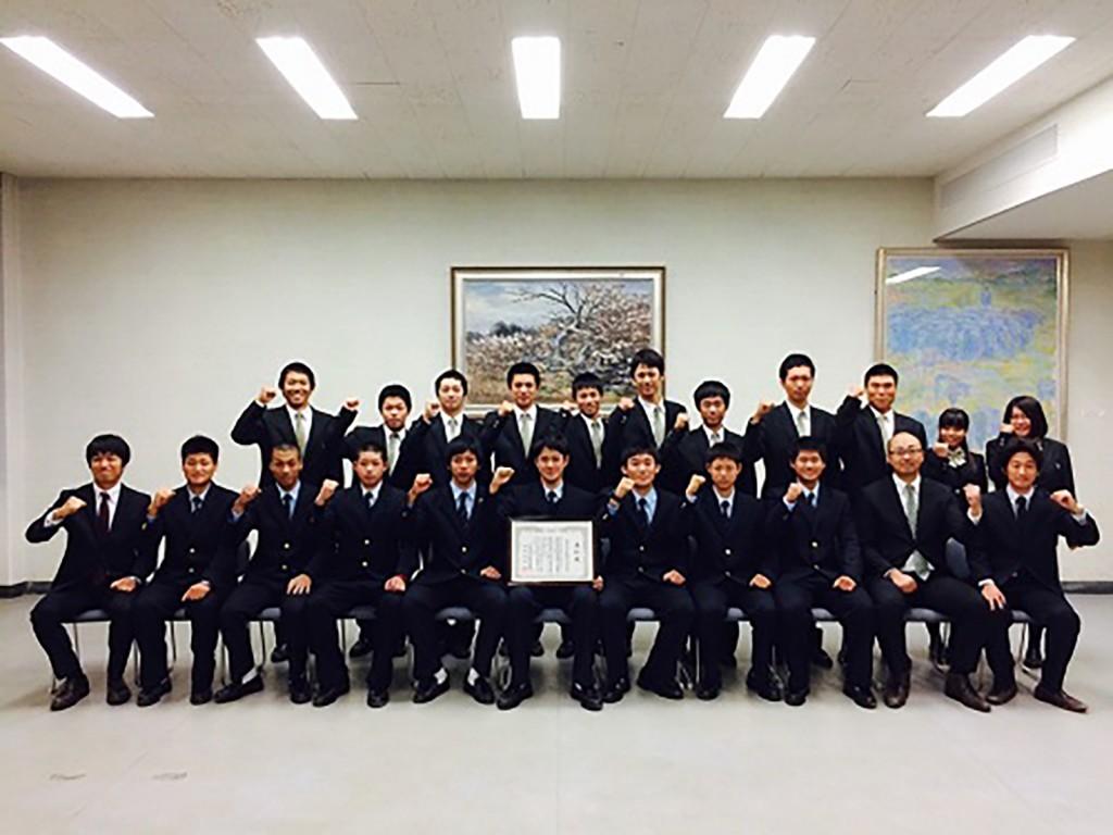 小豆島野球部①21世紀枠伝達式