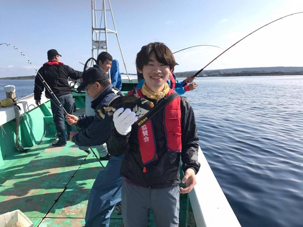 喜界島_魚釣れた